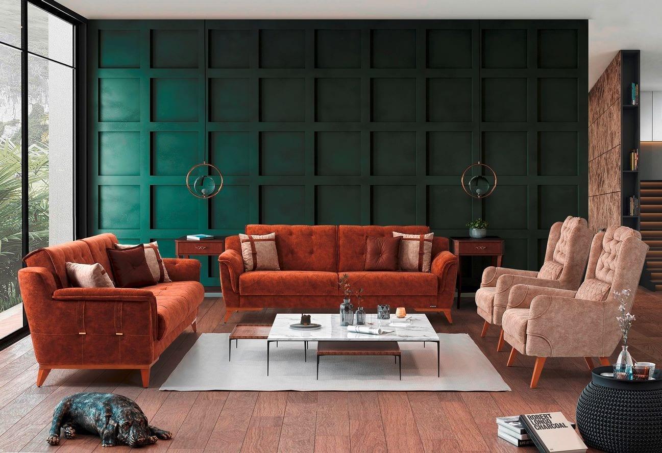 Καναπές Κρεβάτι 3θεσιος Arven 1