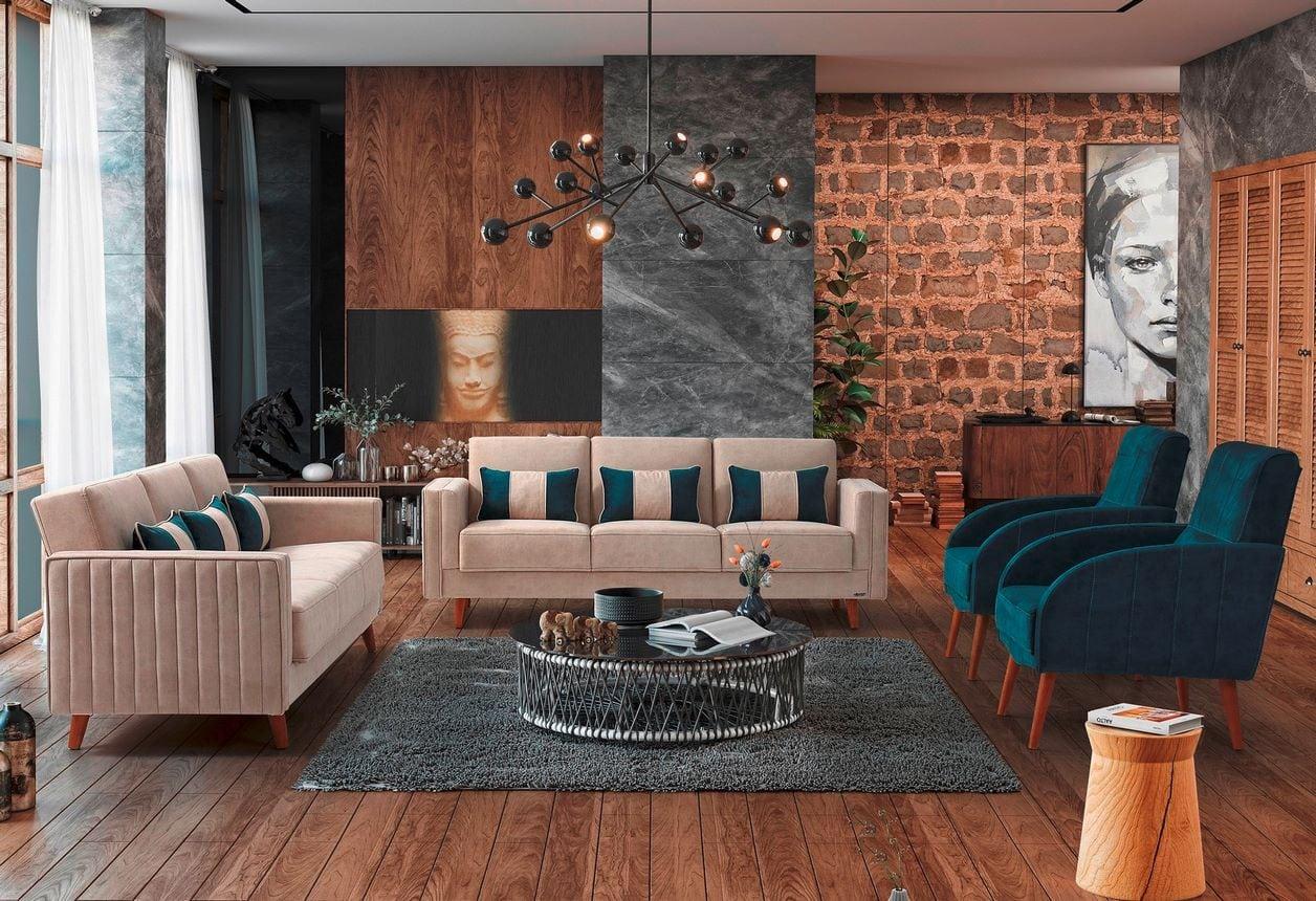 Καναπές Κρεβάτι 3θεσιος Eva