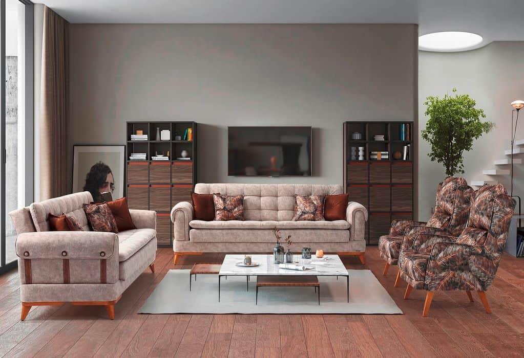 Καναπές Κρεβάτι 3θεσιος Leon 1