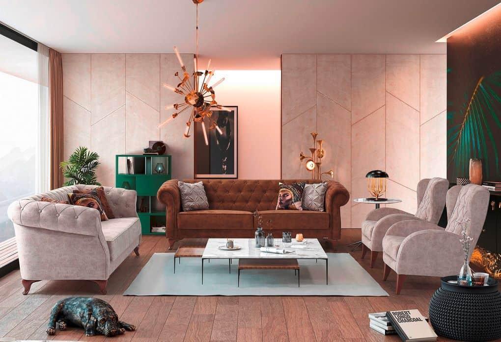 Καναπές Κρεβάτι 3θεσιος Verona 1